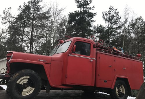 1956 Willys Jeep Overland, 15000km, LHD For Sale (picture 1 of 2)