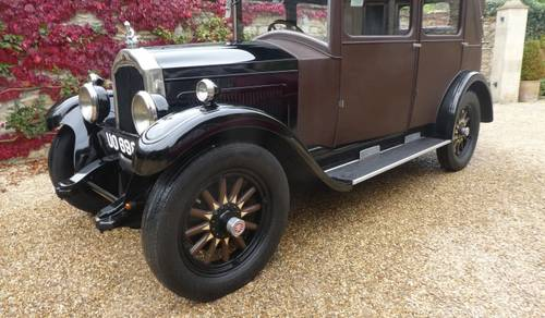 1928 Willys-Knight Model 70A Weymann Saloon  SOLD by Auction (picture 1 of 2)