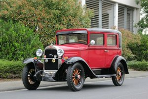Willys Overland Whippet 96A Sedan, 1929 SOLD
