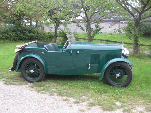 1931 Wolseley Hornet Tourer For Sale (picture 1 of 6)