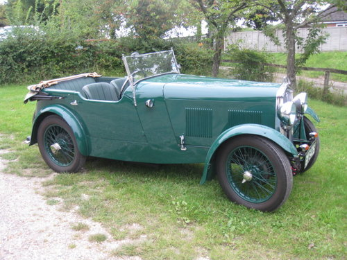 1931 Wolseley Hornet Tourer For Sale (picture 2 of 6)