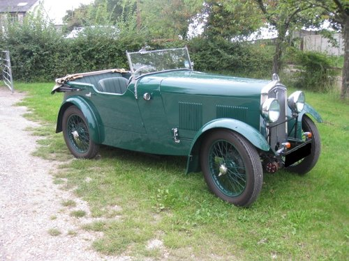 1931 Wolseley Hornet Tourer For Sale (picture 6 of 6)