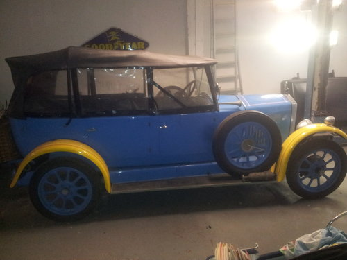 1927 WOLSELEY 15-45 TOURER CONVERTIBLE  ORIGINAL For Sale (picture 1 of 6)