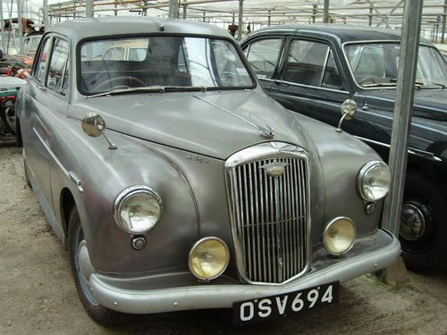 1954 Wolseley   4 / 44 grijs RHD For Sale (picture 1 of 4)