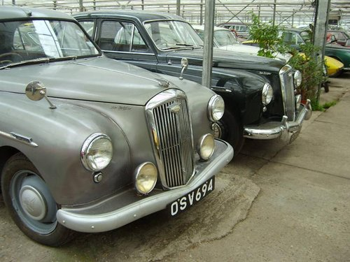 1954 Wolseley   4 / 44 grijs RHD For Sale (picture 4 of 4)