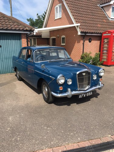 1963 Wolseley 6/110 MK1 For Sale (picture 1 of 6)
