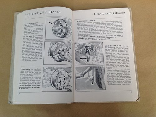 Wolseley 6/90 MK2 Handbook - Original Hardback Edition. For Sale (picture 2 of 2)