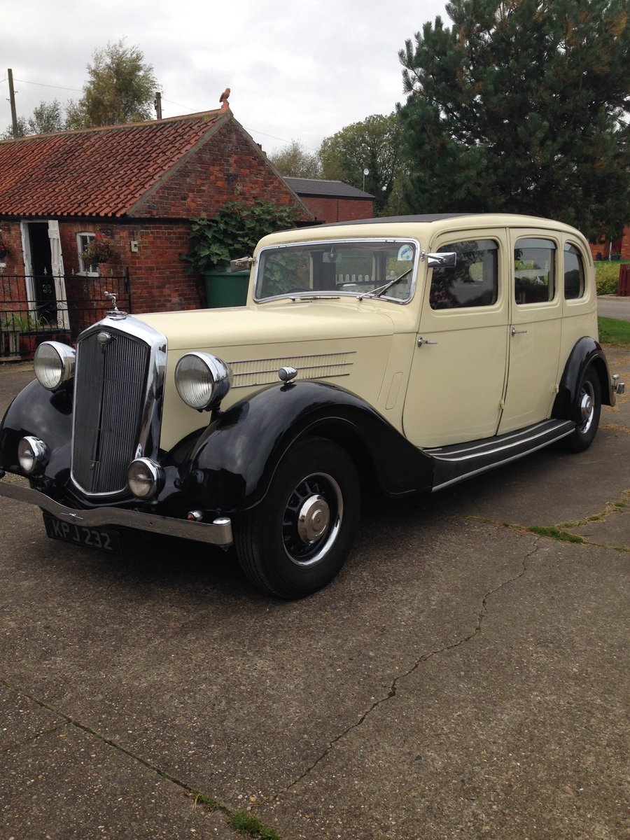 1937 Rare Wolseley 25HP Limousine For Sale (picture 1 of 6)