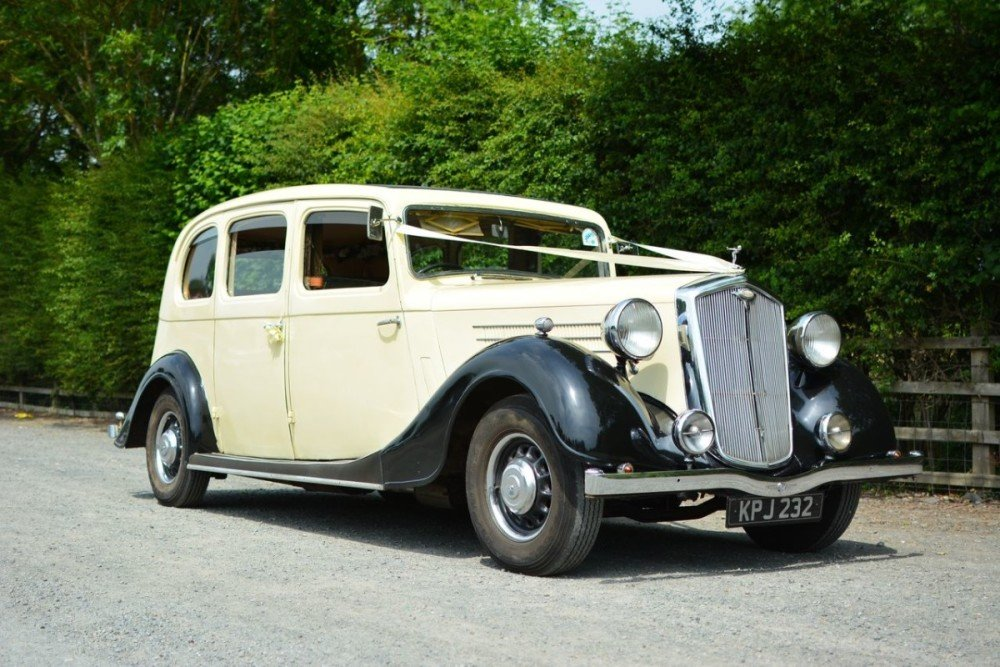 1937 Rare Wolseley 25HP Limousine For Sale (picture 2 of 6)