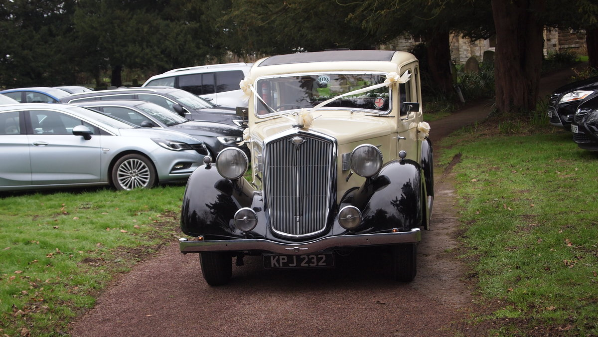 1937 Rare Wolseley 25HP Limousine For Sale (picture 4 of 6)