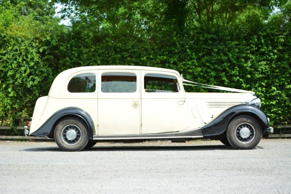 1937 Rare Wolseley 25HP Limousine For Sale (picture 6 of 6)