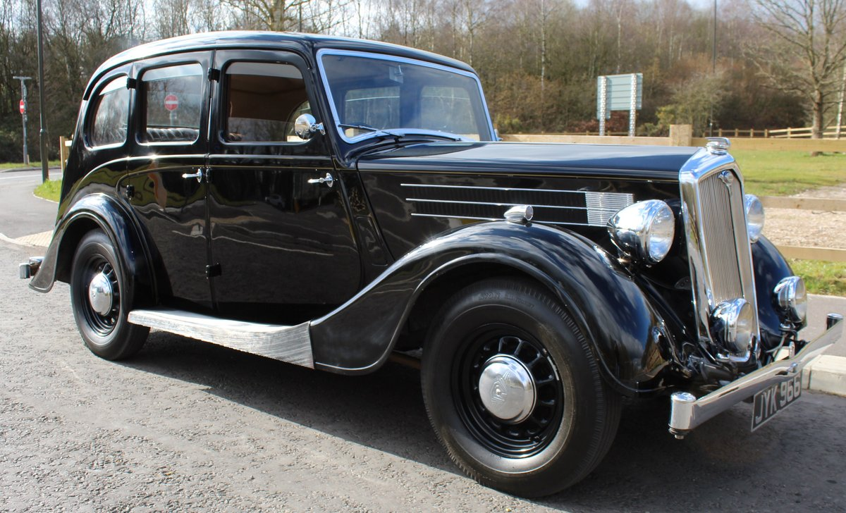 1948 Wolseley 14/6 Saloon With Sliding Steel Sunshine Roof   SOLD (picture 1 of 6)