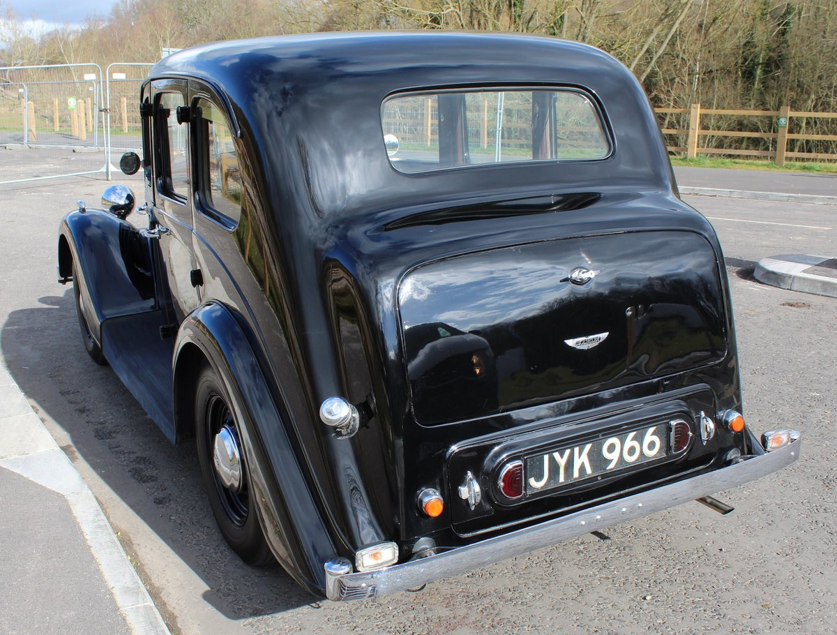 1948 Wolseley 14/6 Saloon With Sliding Steel Sunshine Roof   SOLD (picture 3 of 6)