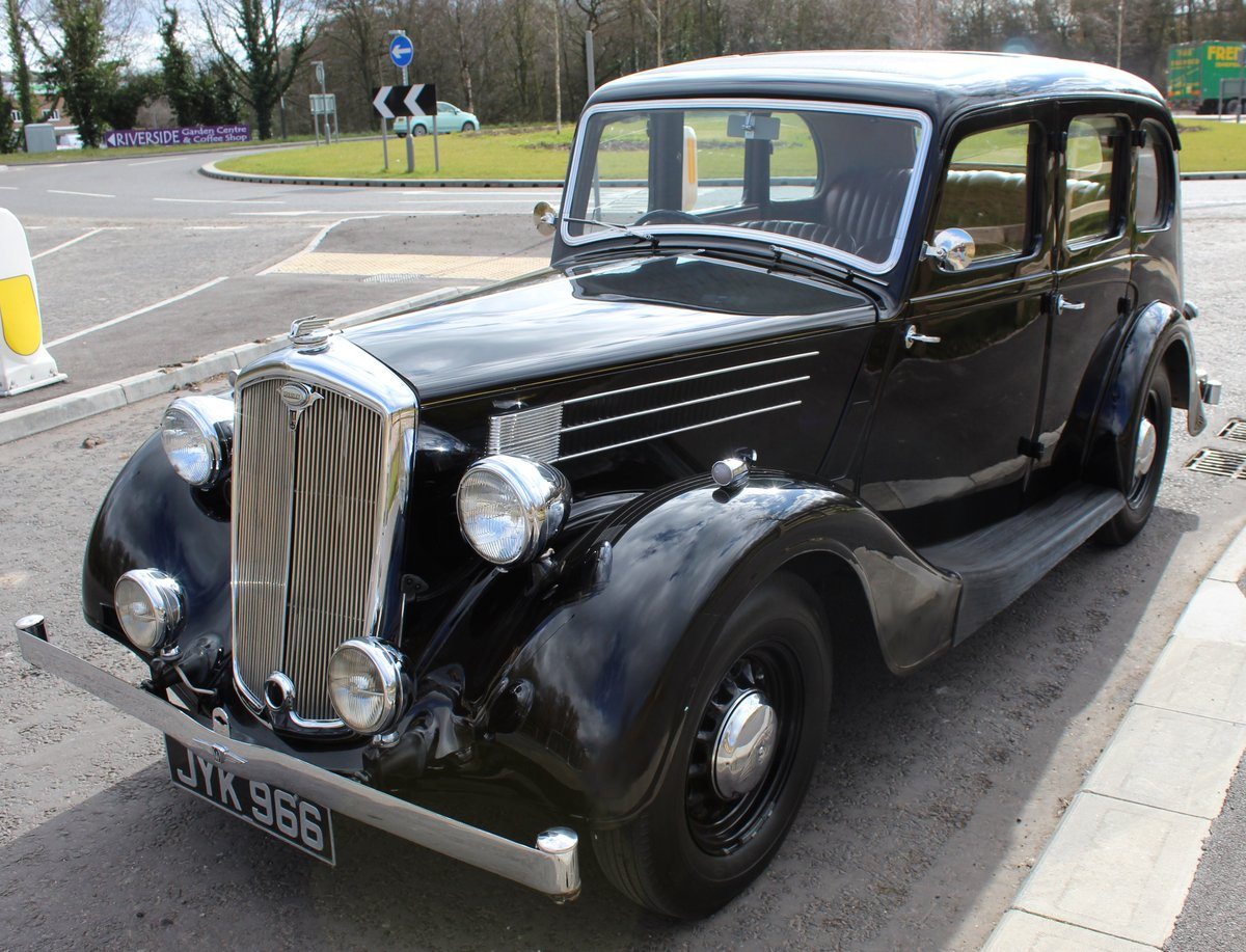 1948 Wolseley 14/6 Saloon With Sliding Steel Sunshine Roof   SOLD (picture 5 of 6)