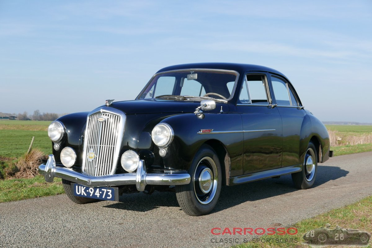 1956 Wolseley 4/44 in good and unrestored condition For Sale (picture 2 of 6)