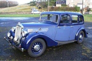 1938 Wolseley 14/56 Salon de Ville For Sale by Auction