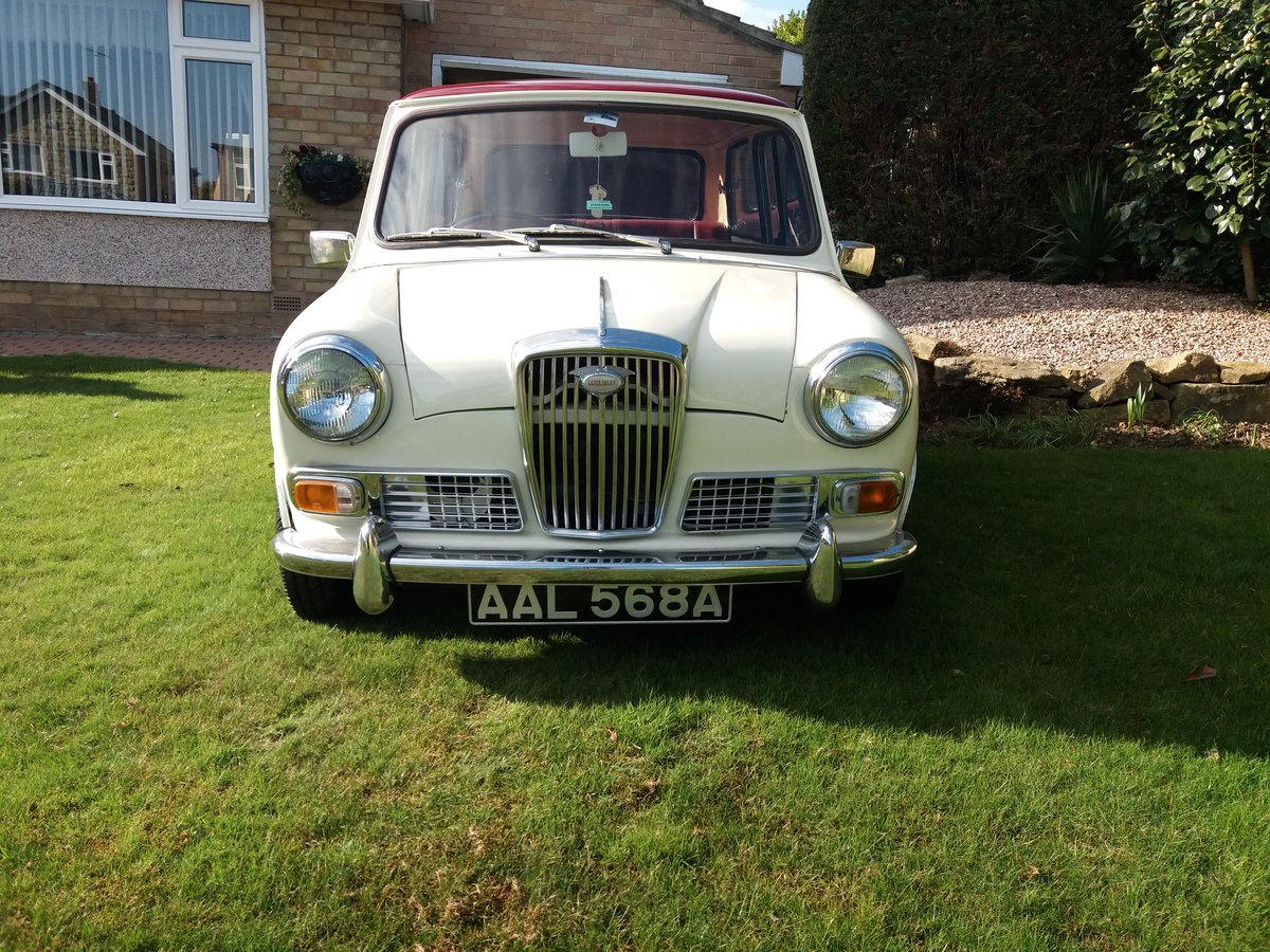 Wolseley Hornet MK1 1962 SOLD (picture 1 of 6)