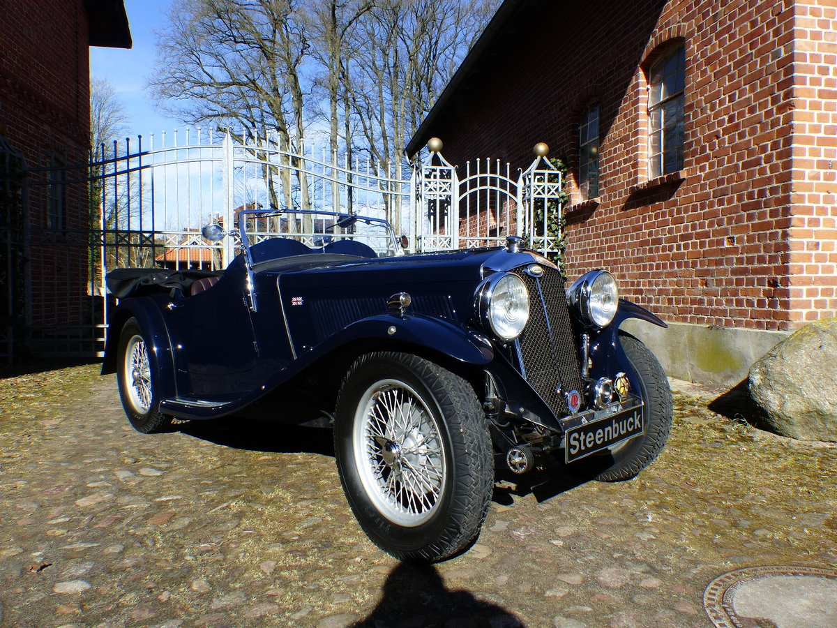 1935 agile roadster with a body of Hiltons of Rugby For Sale (picture 1 of 6)