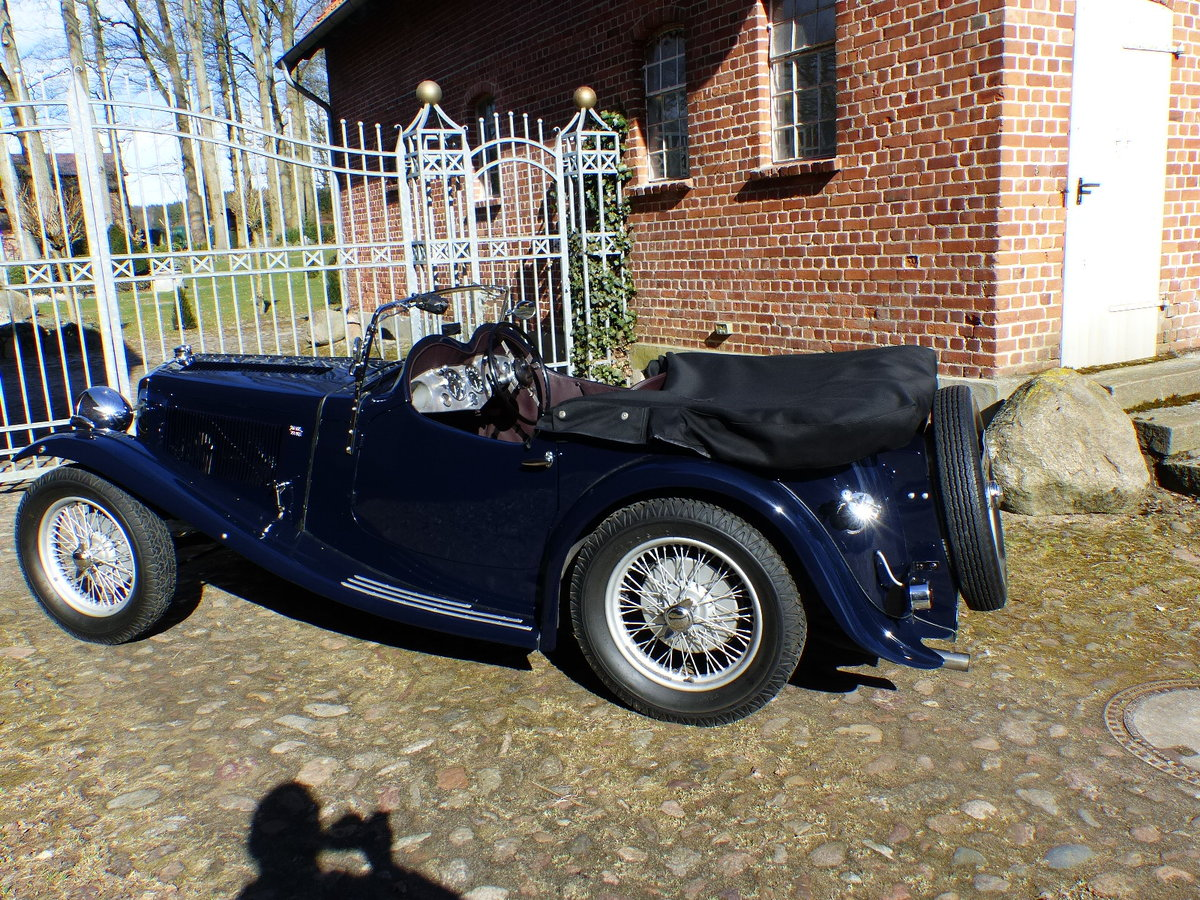 1935 agile roadster with a body of Hiltons of Rugby For Sale (picture 2 of 6)