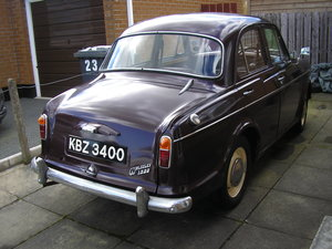 1958 Wolseley 1500, 53k miles, new tyres, solid example