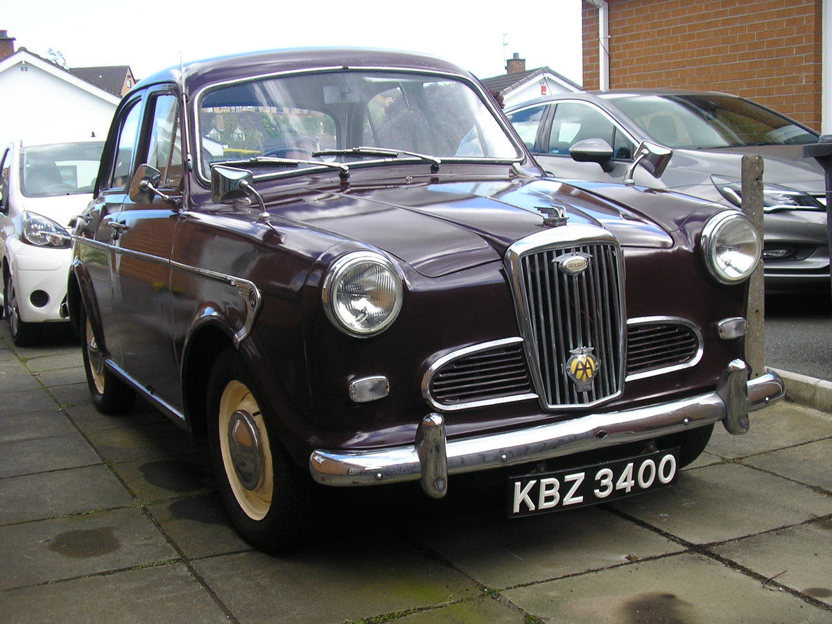 1958 Wolseley 1500, 53k miles, new tyres, solid example SOLD (picture 2 of 6)