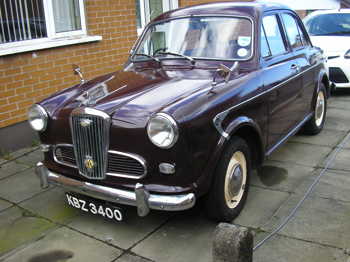 1958 Wolseley 1500, 53k miles, new tyres, solid example SOLD (picture 3 of 6)