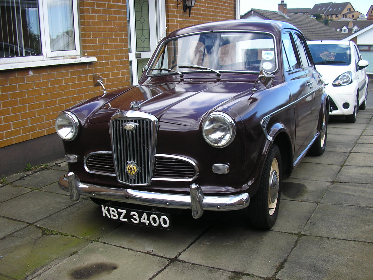 1958 Wolseley 1500, 53k miles, new tyres, solid example SOLD (picture 4 of 6)