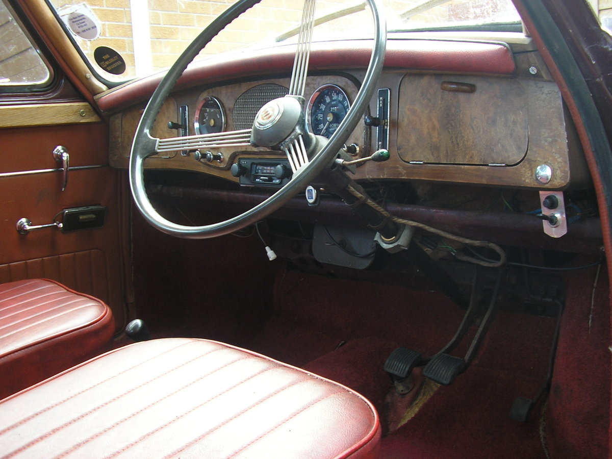 1958 Wolseley 1500, 53k miles, new tyres, solid example SOLD (picture 5 of 6)