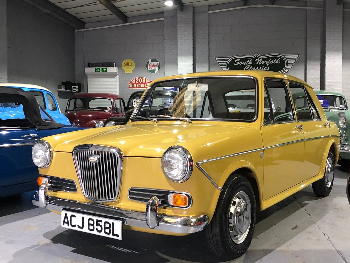 1972 Wolseley 1300, Nut and bolt restoration, 2 owners SOLD (picture 1 of 6)
