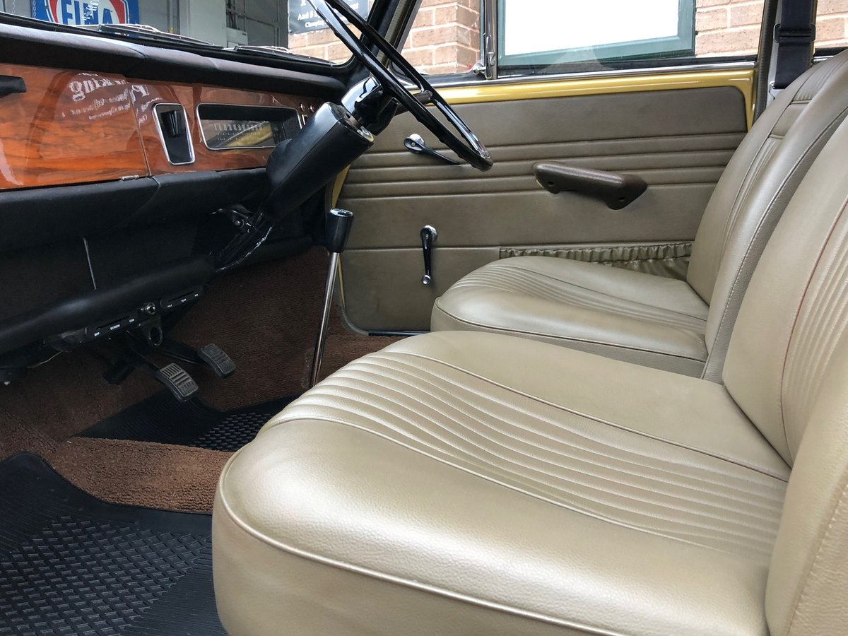 1972 Wolseley 1300, Nut and bolt restoration, 2 owners SOLD (picture 5 of 6)