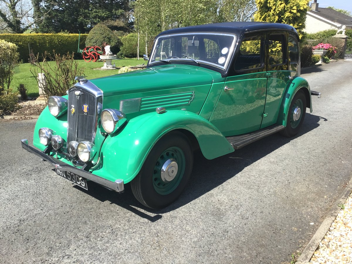 1936 Wolseley 14/56 saloon de luxe For Sale (picture 2 of 6)