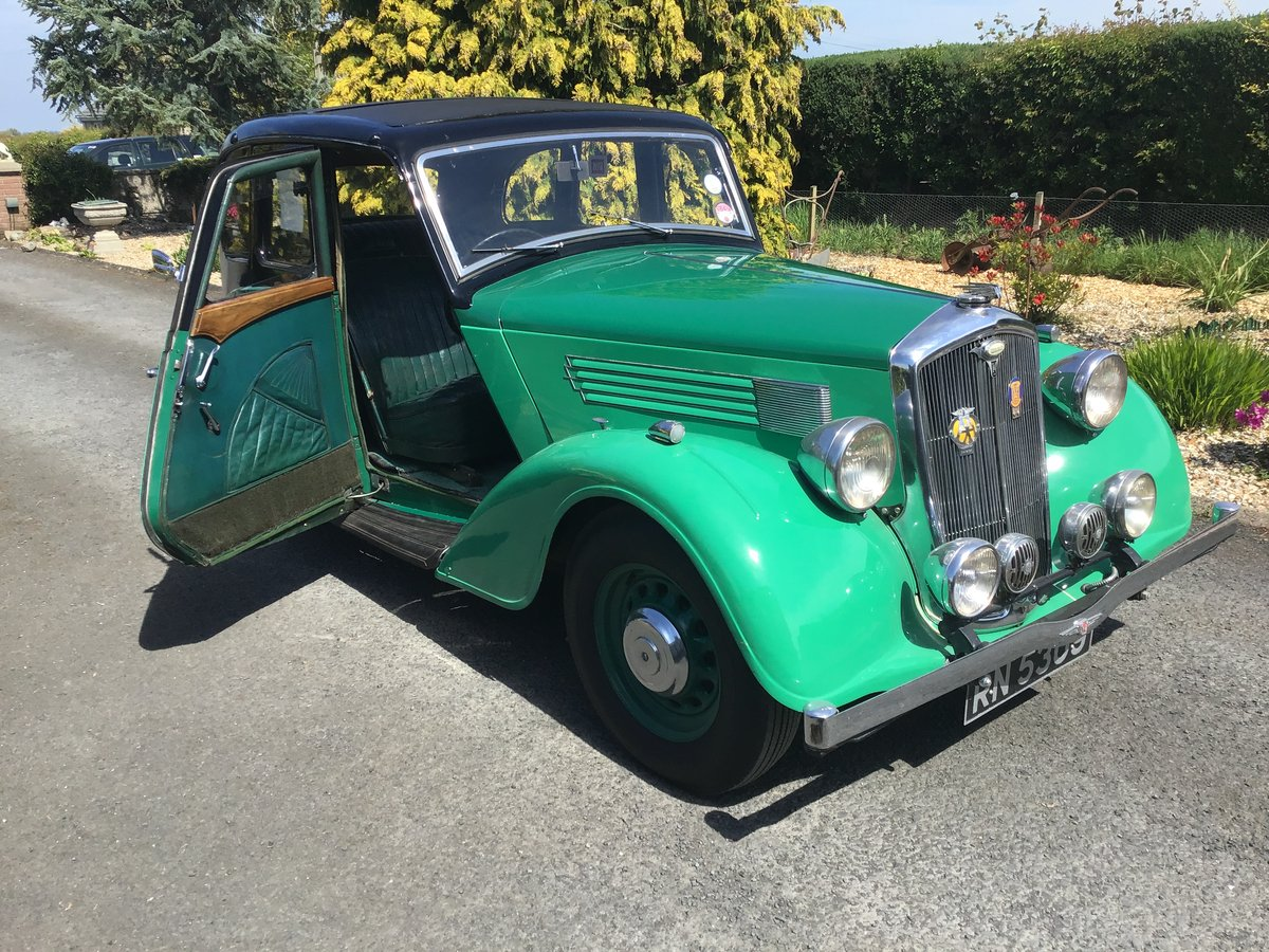 1936 Wolseley 14/56 saloon de luxe For Sale (picture 3 of 6)