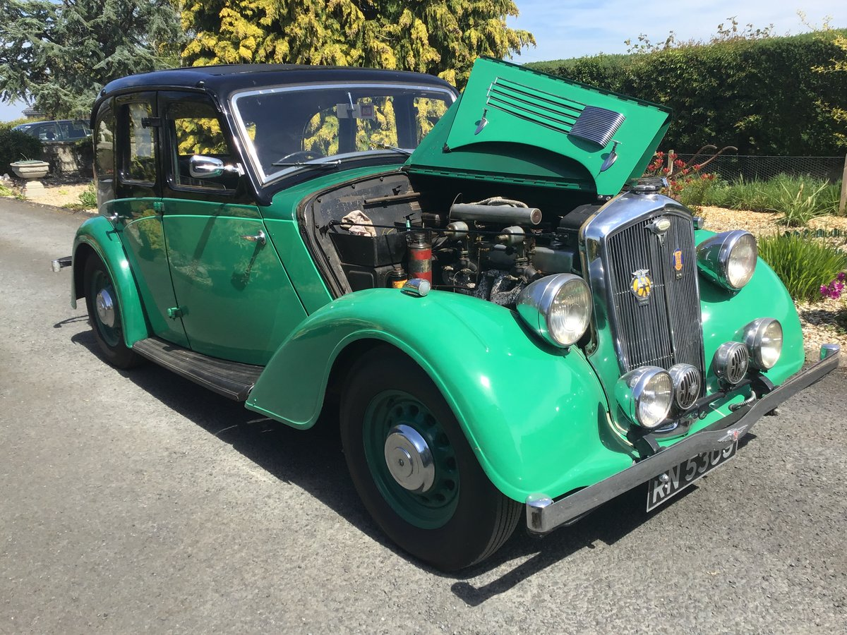 1936 Wolseley 14/56 saloon de luxe For Sale (picture 5 of 6)