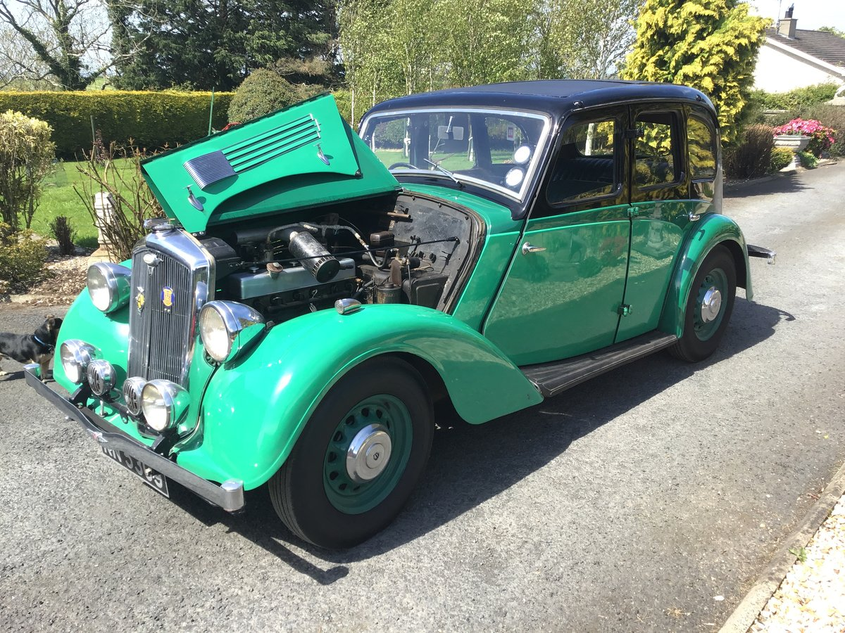 1936 Wolseley 14/56 saloon de luxe For Sale (picture 6 of 6)