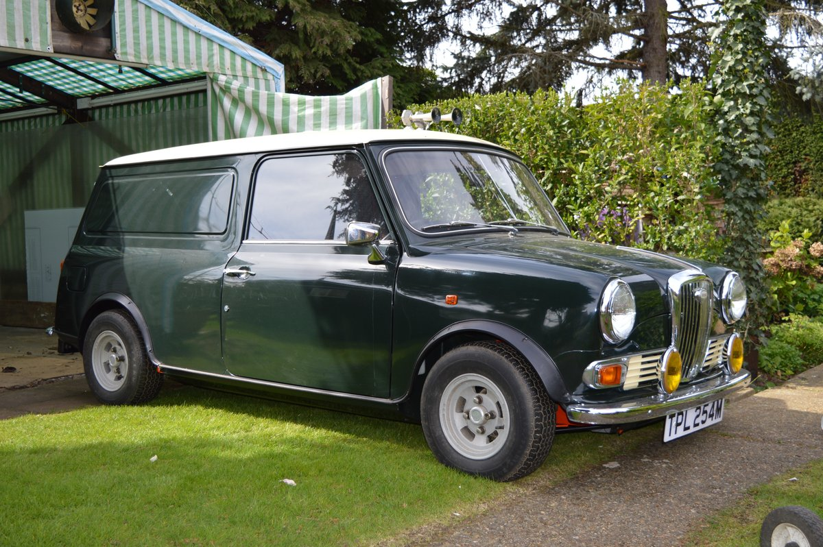 1973 Wolseley Hornet Van for Auction Friday 12th July SOLD by Auction (picture 1 of 6)