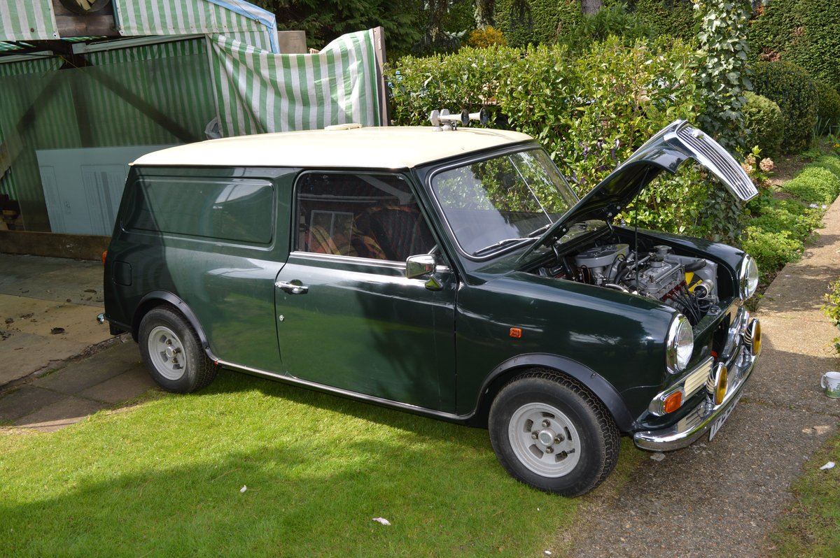 1973 Wolseley Hornet Van for Auction Friday 12th July SOLD by Auction (picture 2 of 6)