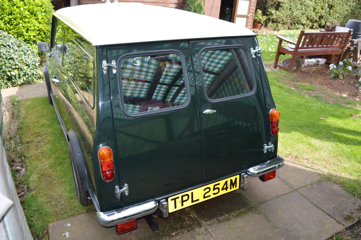 1973 Wolseley Hornet Van for Auction Friday 12th July SOLD by Auction (picture 5 of 6)