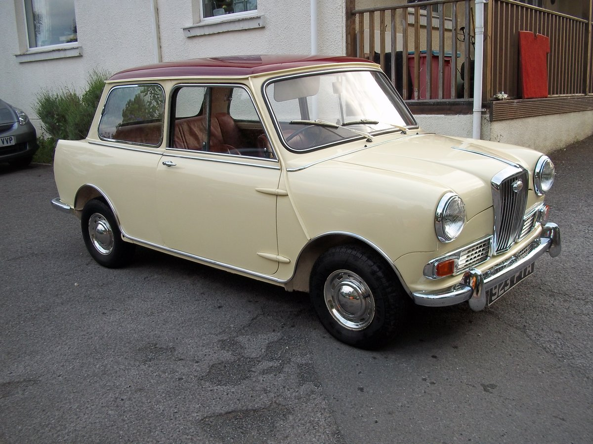1963 Wolseley Hornet MK1 18000 Miles For Sale (picture 1 of 6)