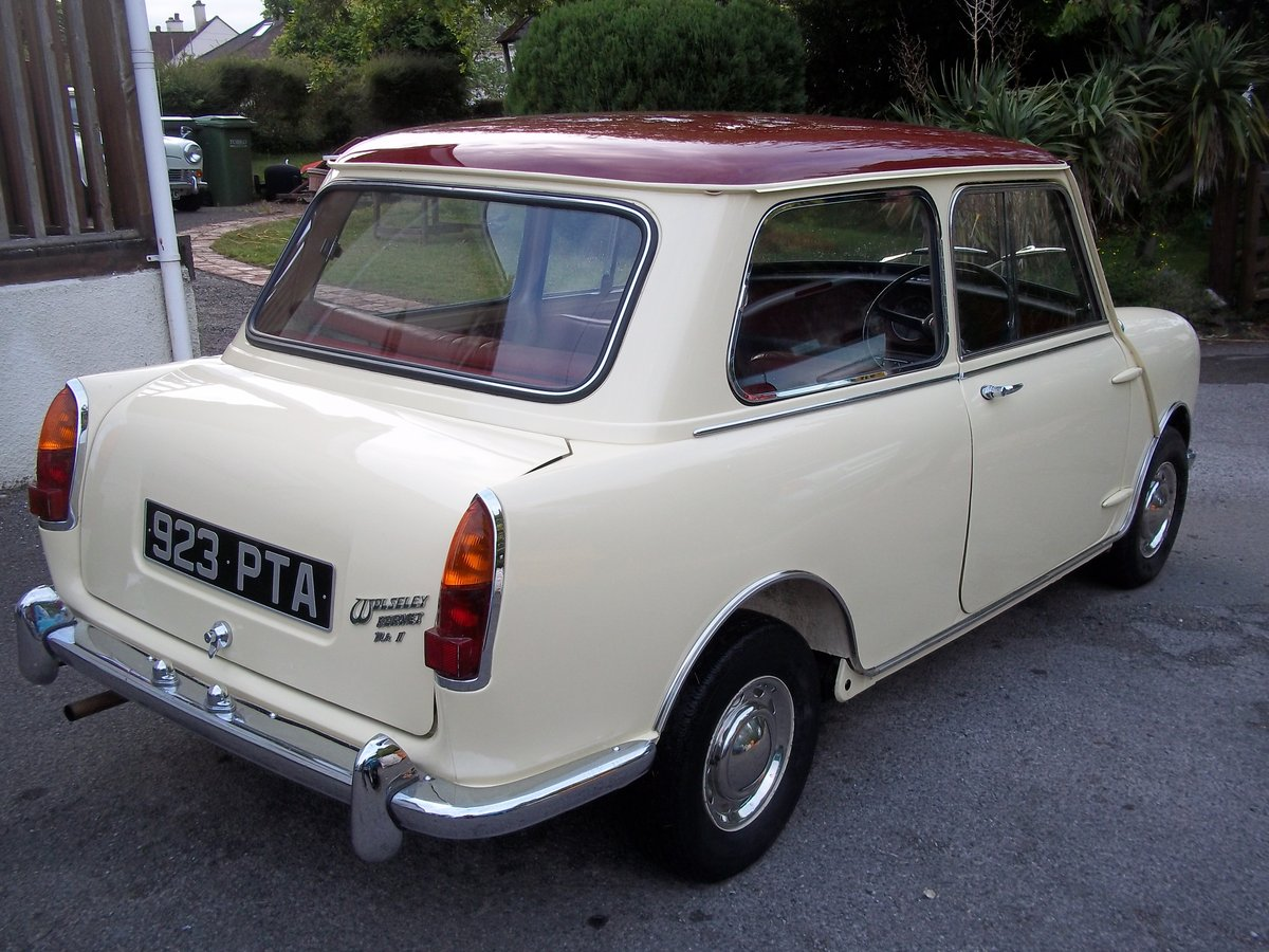 1963 Wolseley Hornet MK1 18000 Miles For Sale (picture 3 of 6)