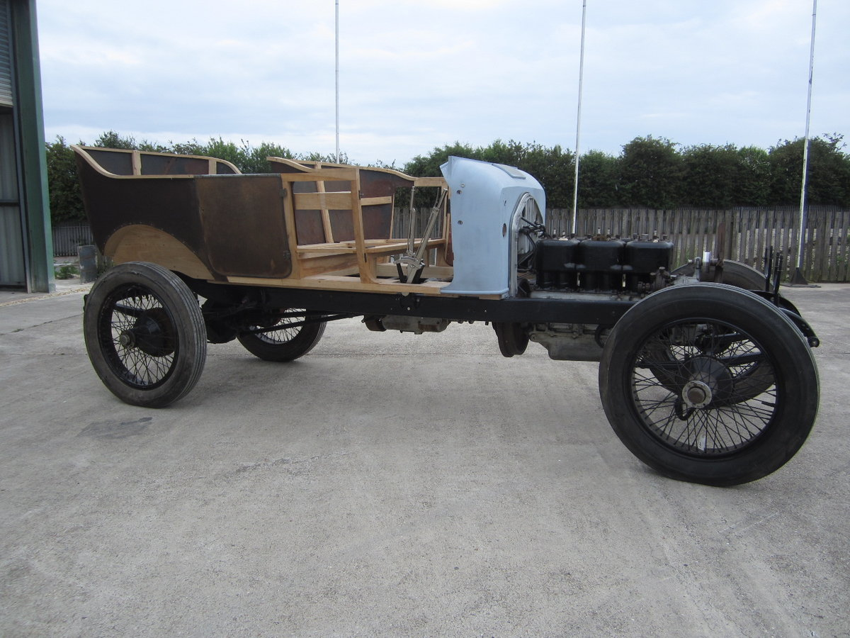 1913 Wolseley Torpedo Phaeton 6 Cylinder Model M6 24/30 HP For Sale (picture 2 of 6)