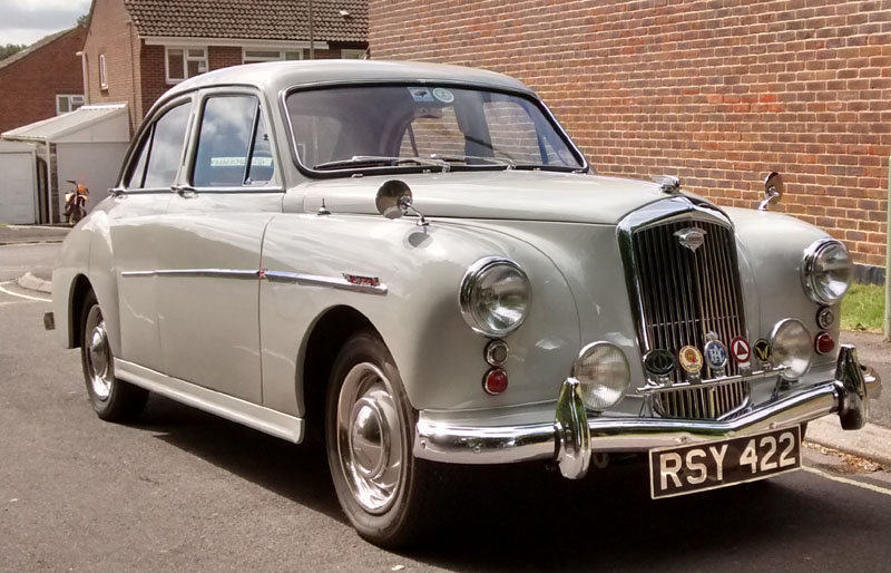 1957 Wolseley 15/50 Immaculate  SOLD (picture 1 of 6)
