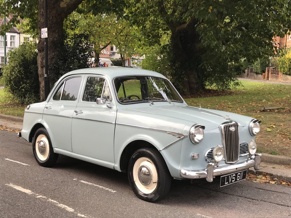 Gorgeous 1962 Wolseley 1500 in Smoke Grey SOLD (picture 1 of 6)