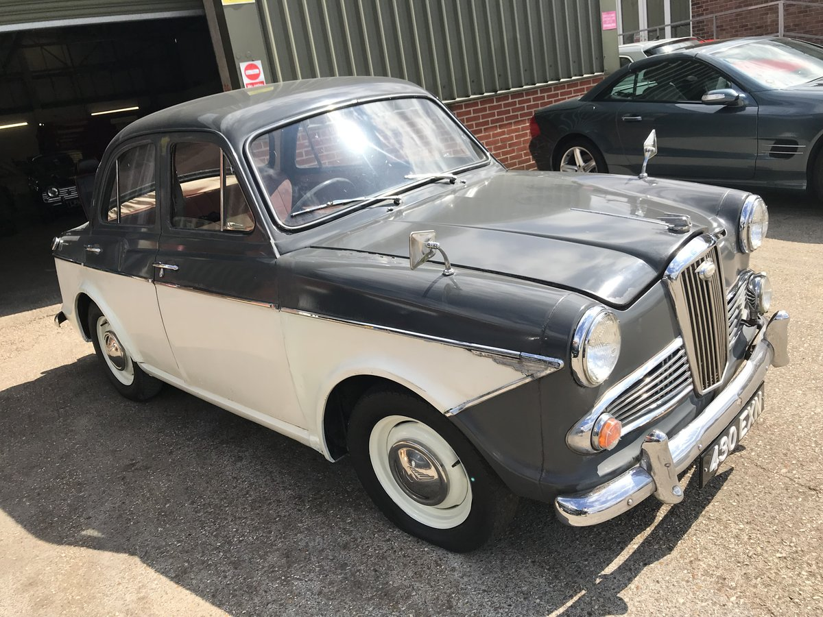 1962 WOLSELEY 1500 FOR COMPLETE RESTORATION SOLD by Auction (picture 1 of 6)