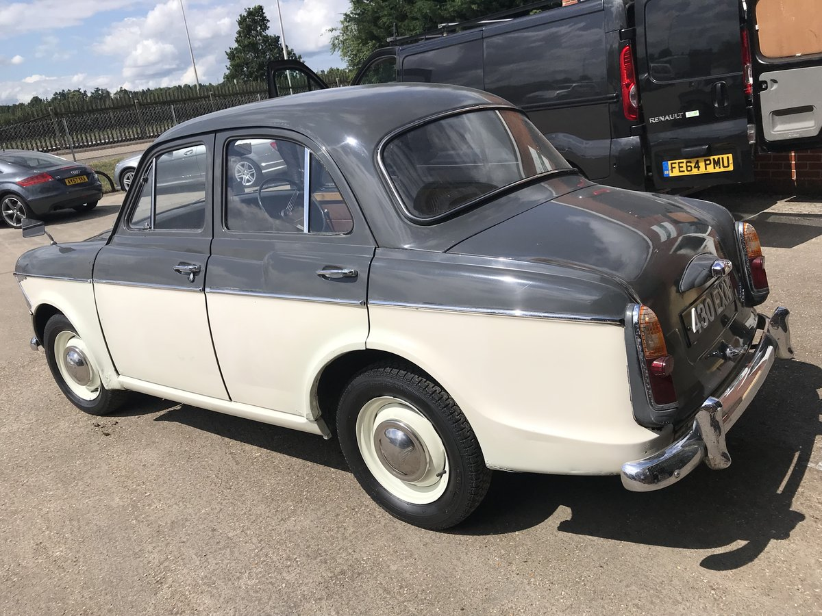 1962 WOLSELEY 1500 FOR COMPLETE RESTORATION SOLD by Auction (picture 3 of 6)