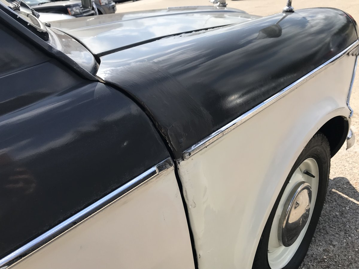 1962 WOLSELEY 1500 FOR COMPLETE RESTORATION SOLD by Auction (picture 6 of 6)