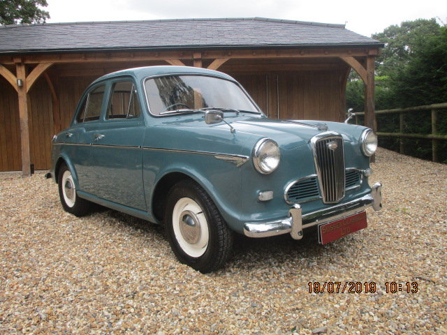 1961 Wolseley 1500 Saloon (Card Payments Accepted) SOLD (picture 1 of 6)