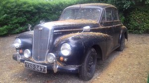 1951 WOLSELEY 4/50 'WILBUR' ~ GARAGE FIND ~ LOTS SPENT £££ SOLD