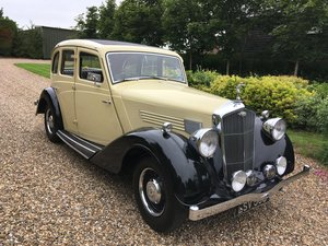 1936 Wolseley 16hp Series 2 Super 6.