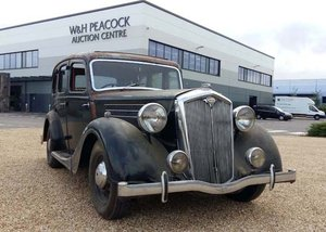 1947 Wolseley 18/85 for restoration SOLD by Auction