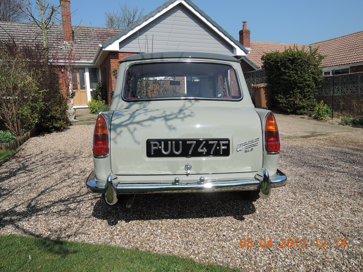 1968 Wolseley Hornet Mk3 For Sale (picture 3 of 6)